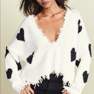 ✨Wildfox Hearts Palmetto Sweater